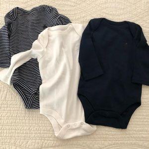 Baby Gap 3-6 mo. infant long sleeve onesies